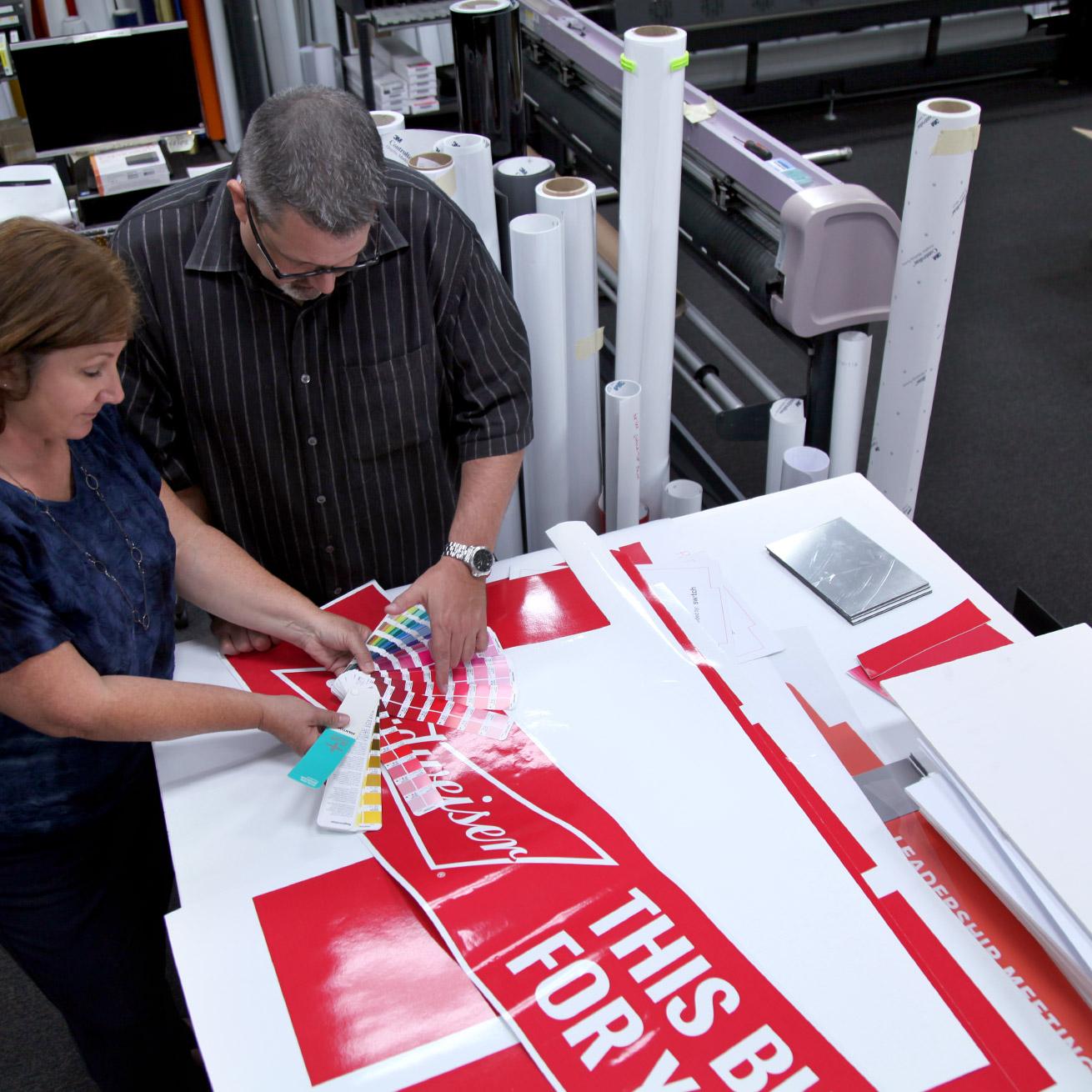 Print Production St. Louis