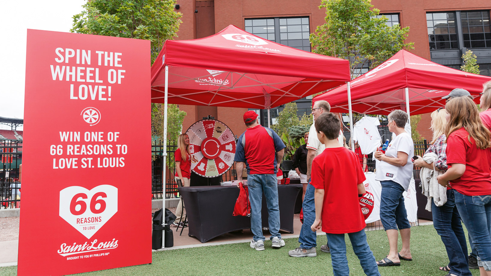 Phillips 66 Reasons to Love St. Louis event