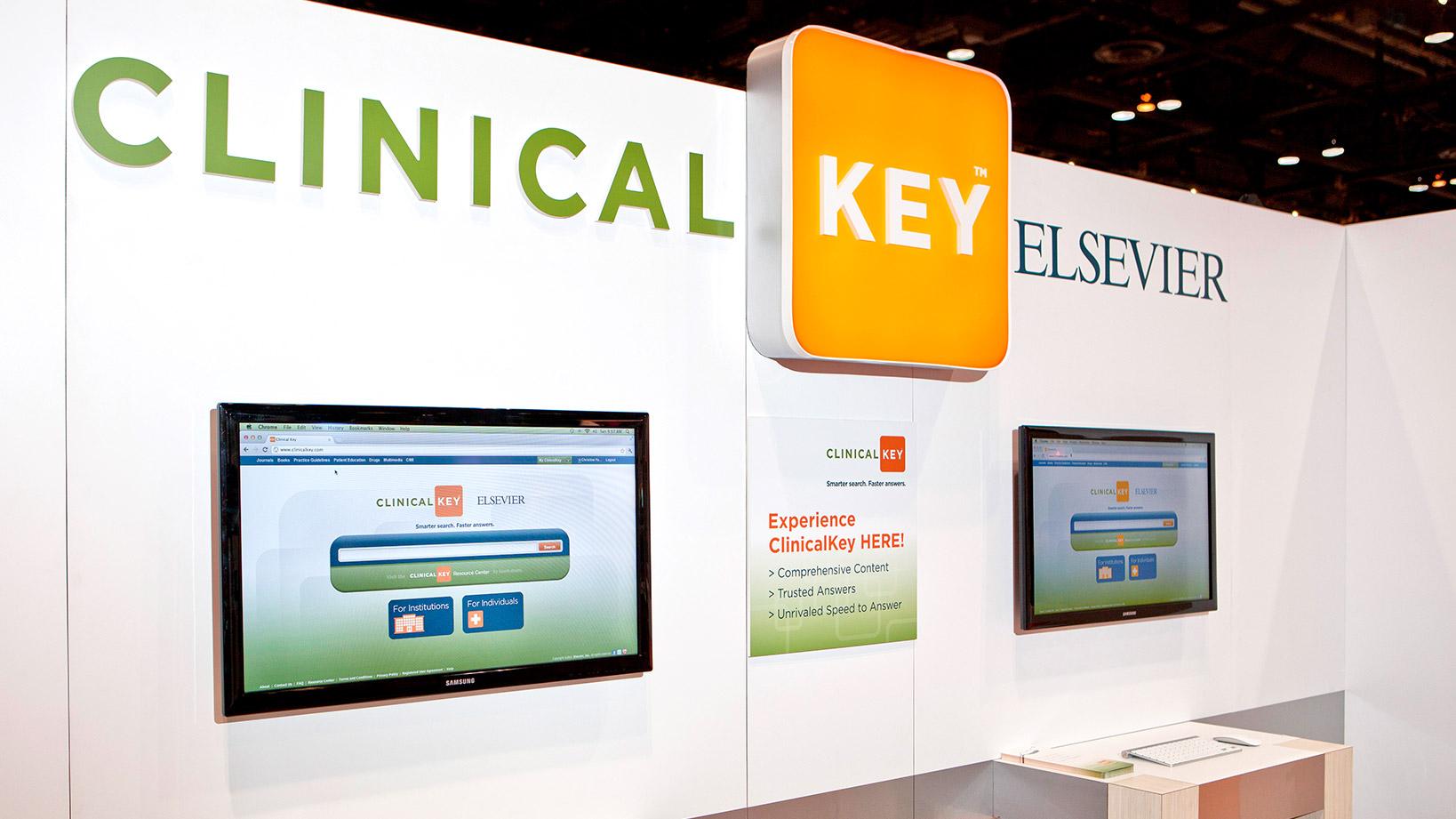 ClinicalKey kiosk