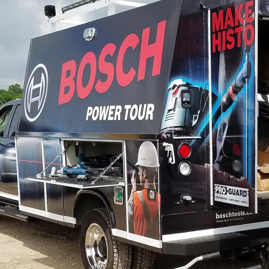 Bosch Power tools truck