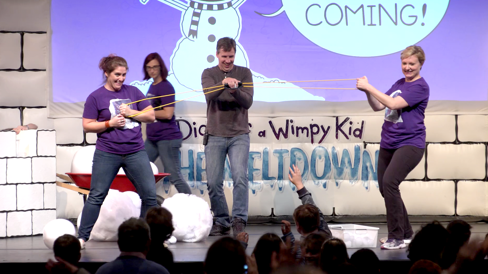 Jeff Kinney on tour for Diary of a Wimpy Kid