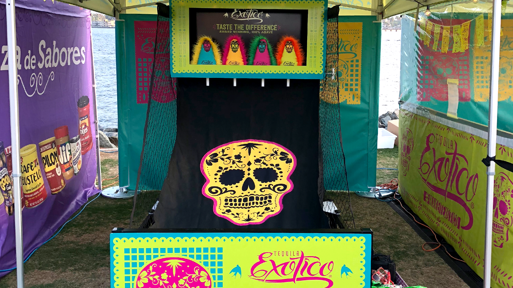 Tequila Exotico Booth