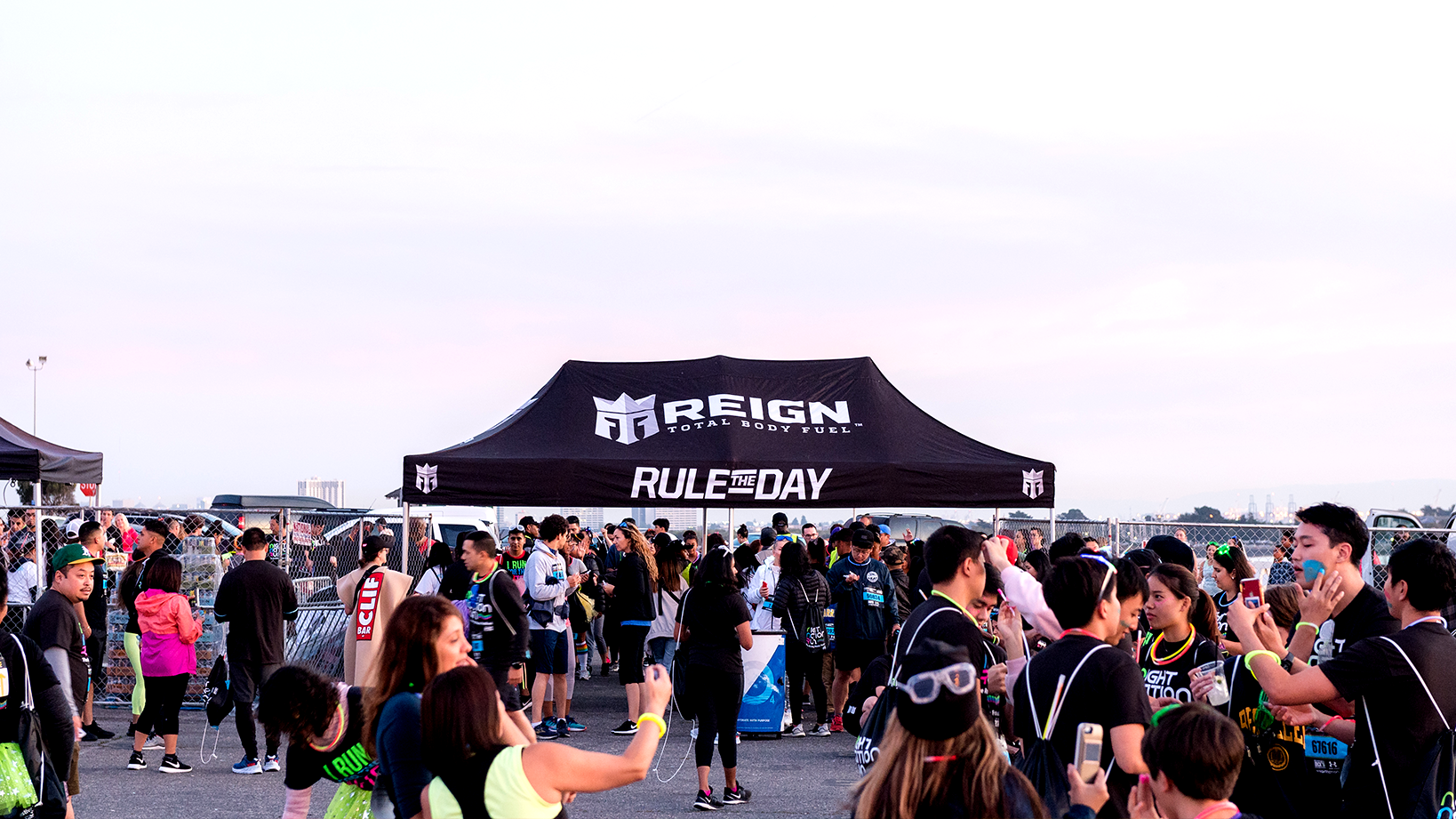 Reign, Rule the Day tent