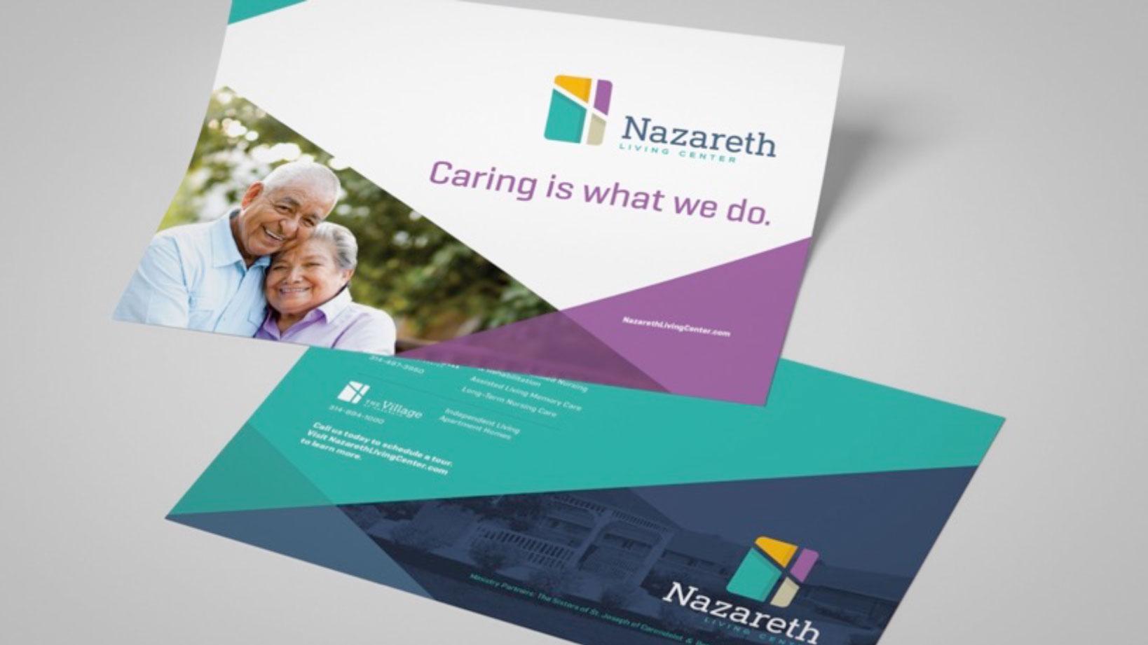 Nazareth – Rebranding, Graphic Design and Sales Collateral