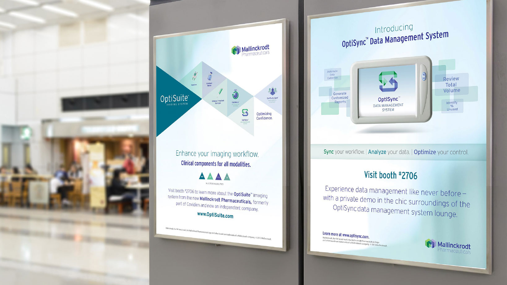 Mallinckrodt Print and Digital Signage and Advertising