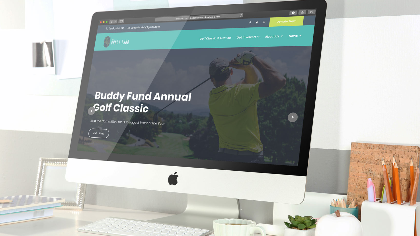 Buddy Fund – logo design and website launch