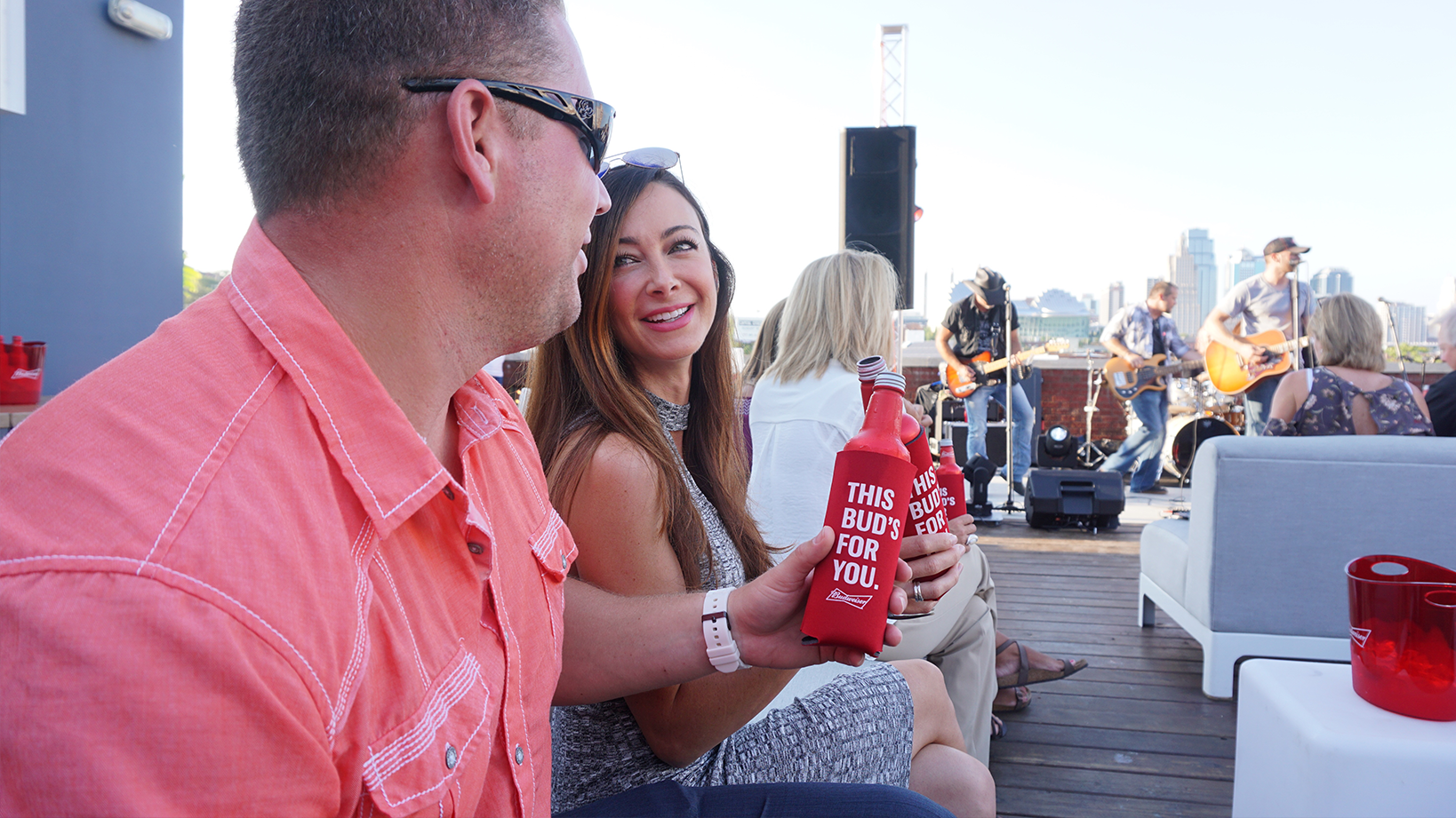 Budweiser – Live music and sampling events