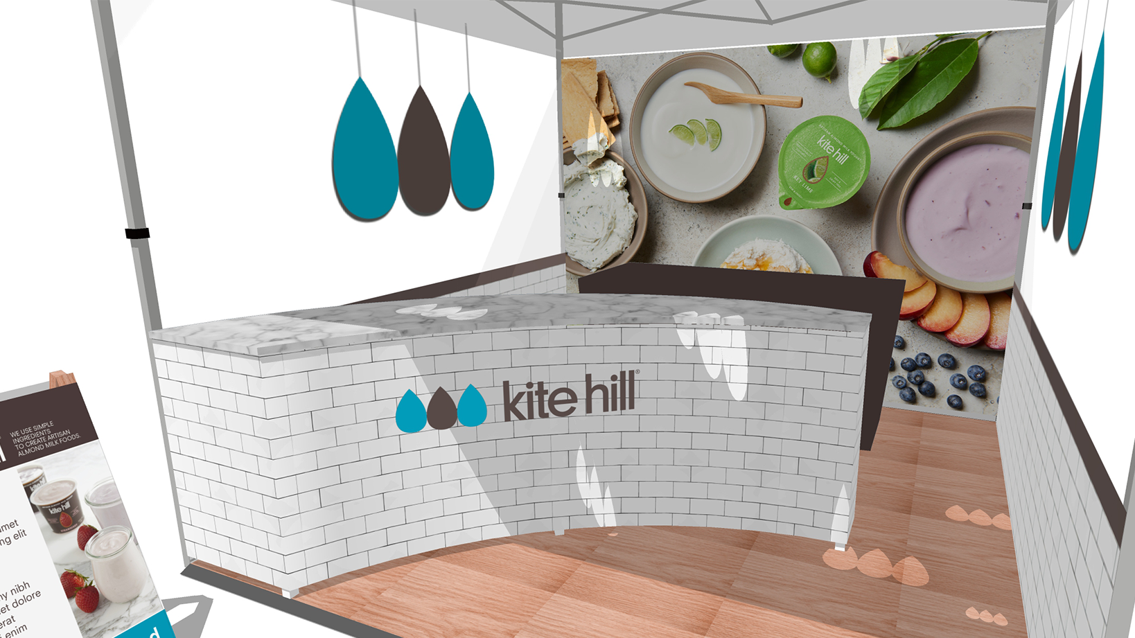Kite Hill – Booth and Environmental Design