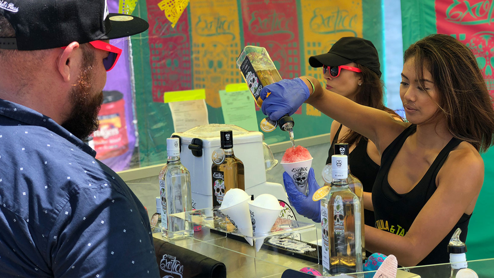 Exotico Tequila – Sampling and Festival Activation
