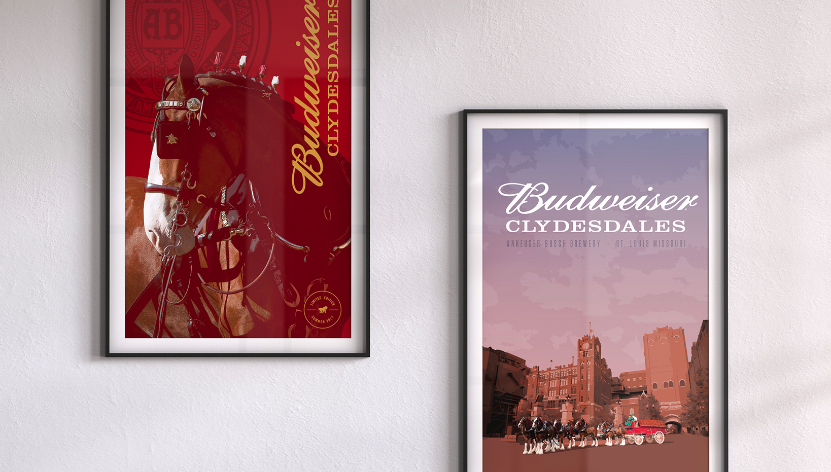 ABInBev Clydesdales – Graphic Design, Merchandise Giveaways
