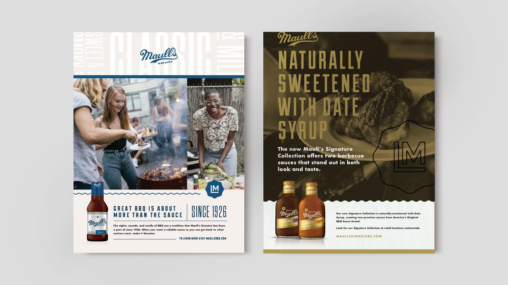 Maull's – Advertising, Branding, Packaging Design