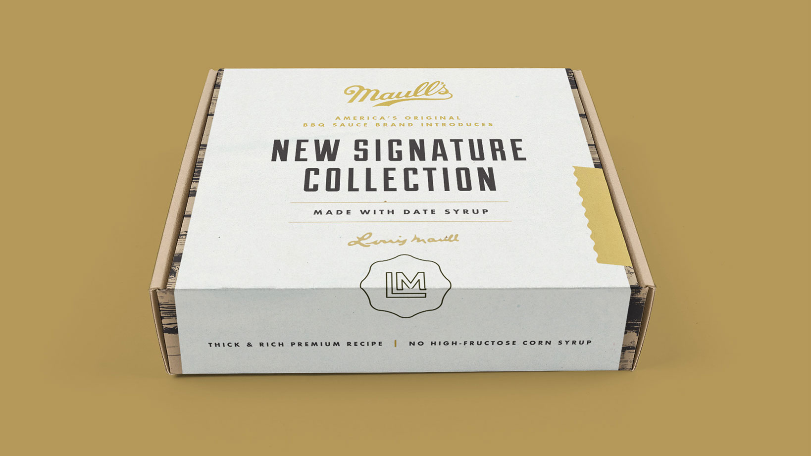 Maull's- Package Design, Direct Mail, Branding