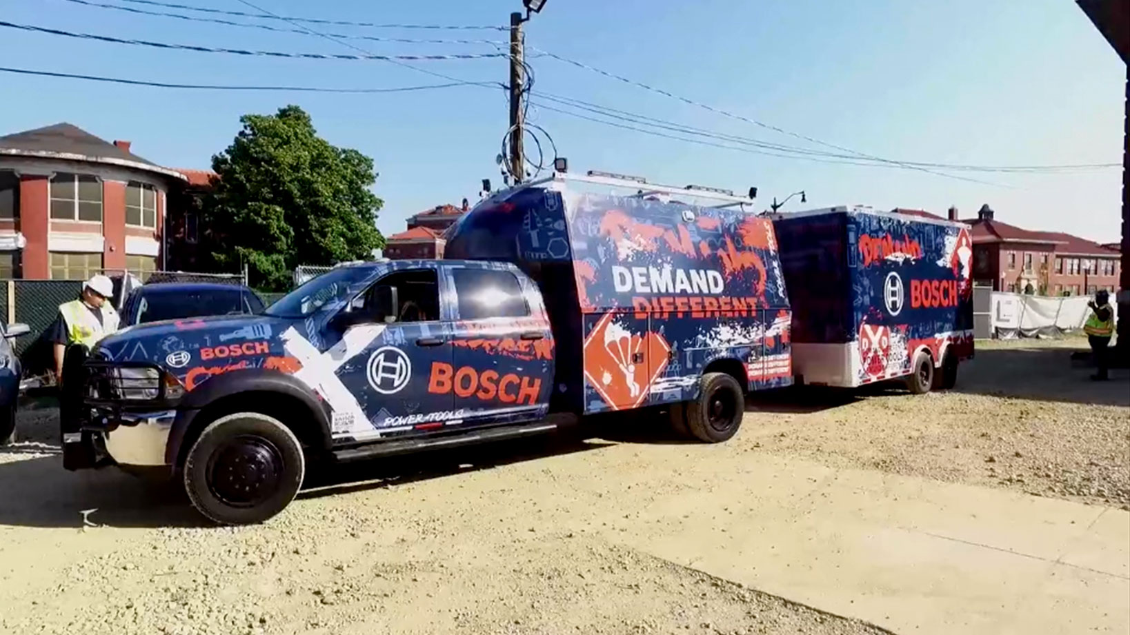Bosch Demand Different – Mobile Tour, Vehicle Wrap, Social Media Content