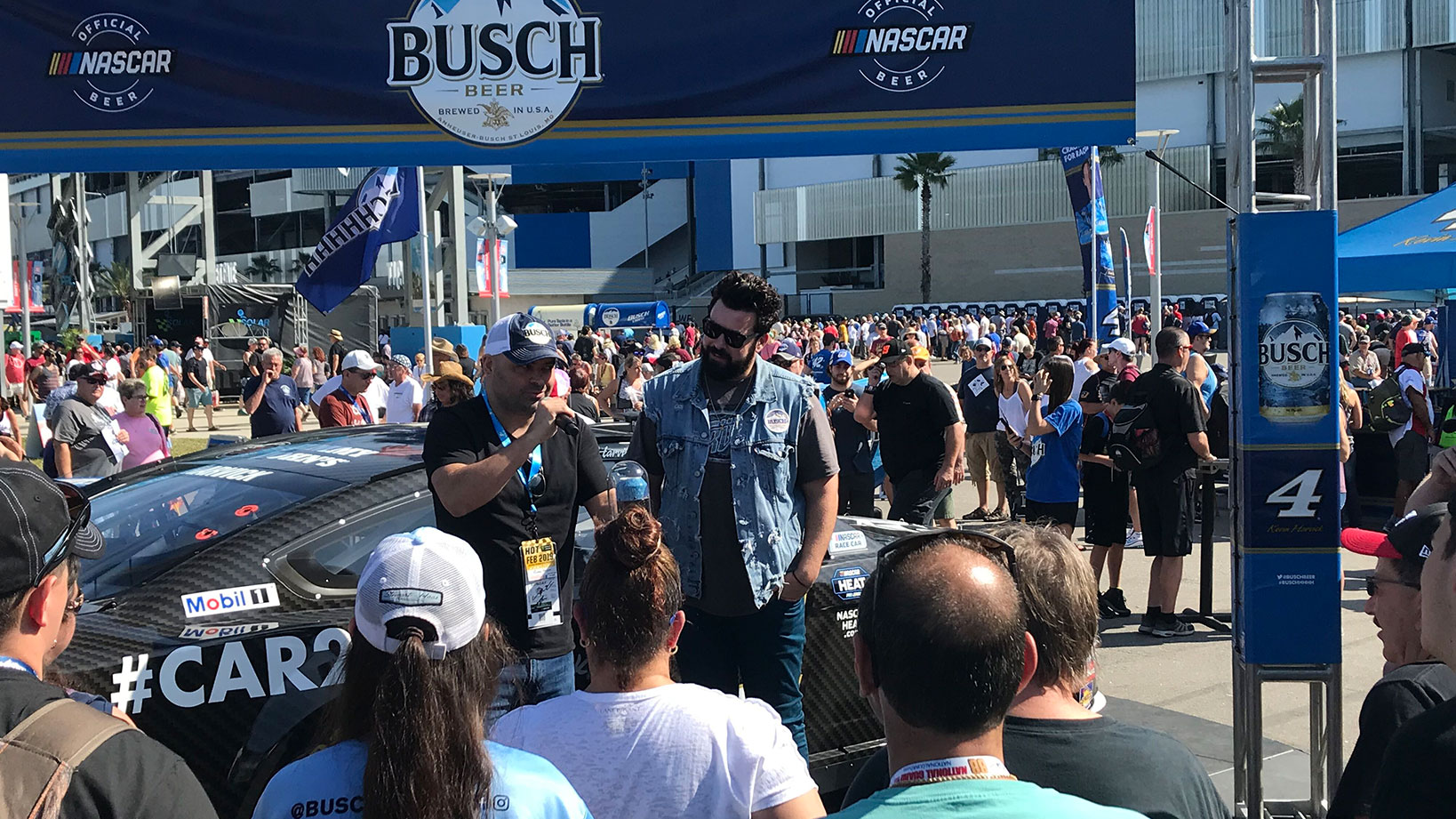 Busch Racing – Sponsorship Activation, National Tour Scheduling
