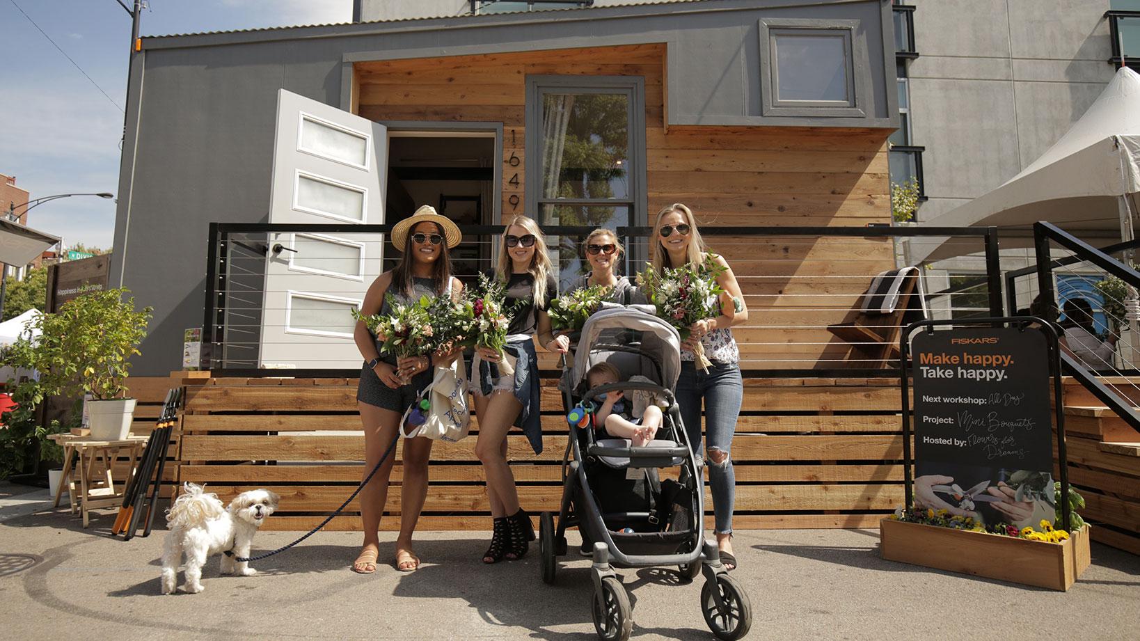 Fiskars Tiny Home –Sponsorship Activation and Tour Management