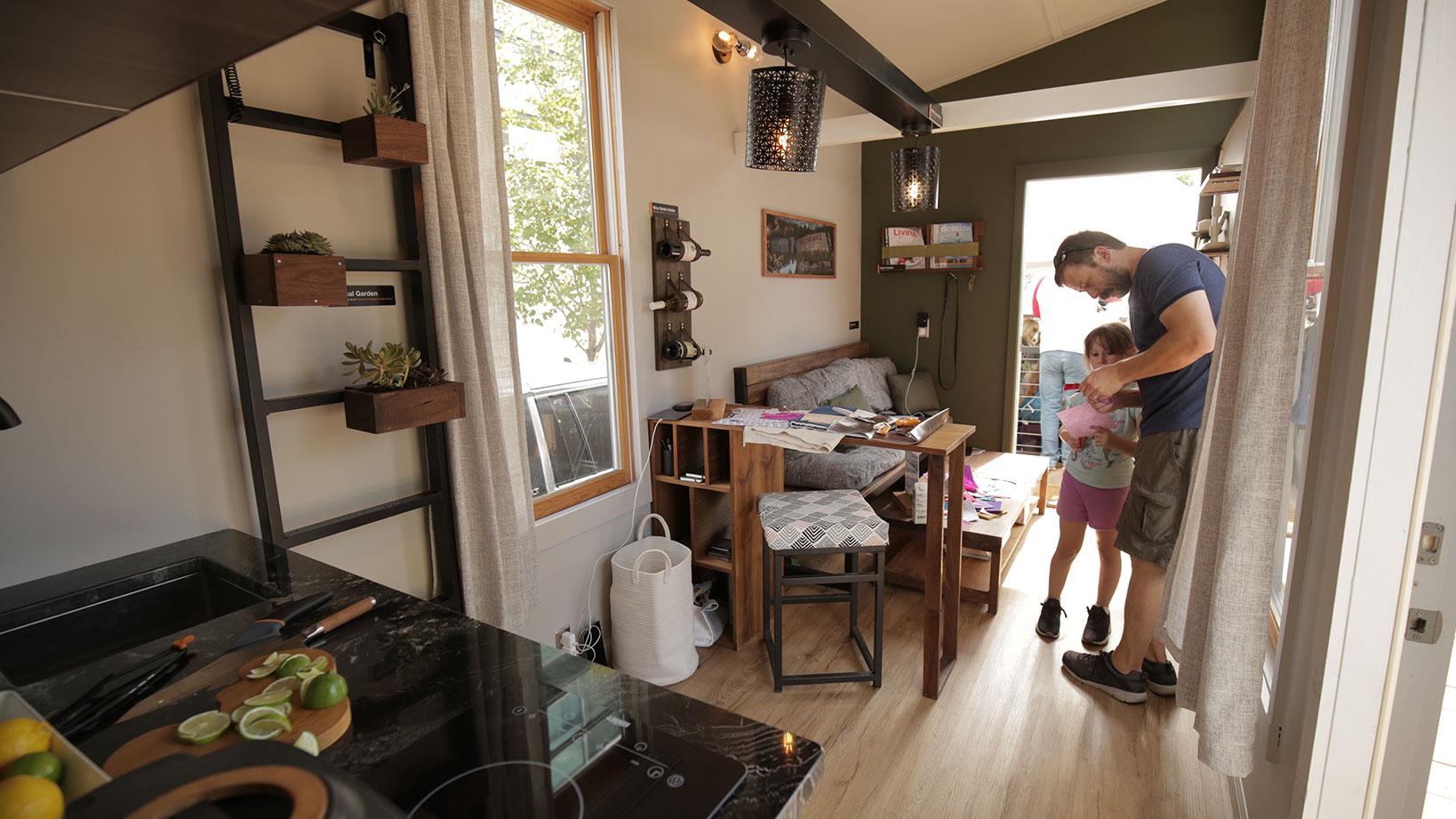 Fiskars Tiny home - Design and Custom Fabrication
