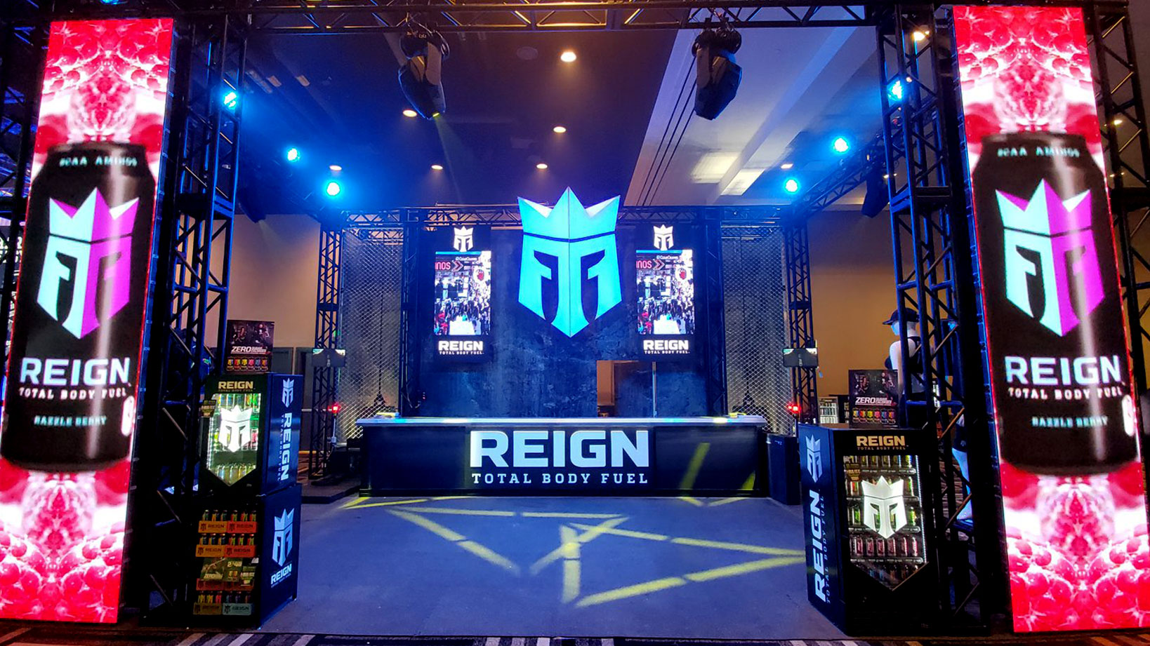 Reign- Trade Show Booth Design