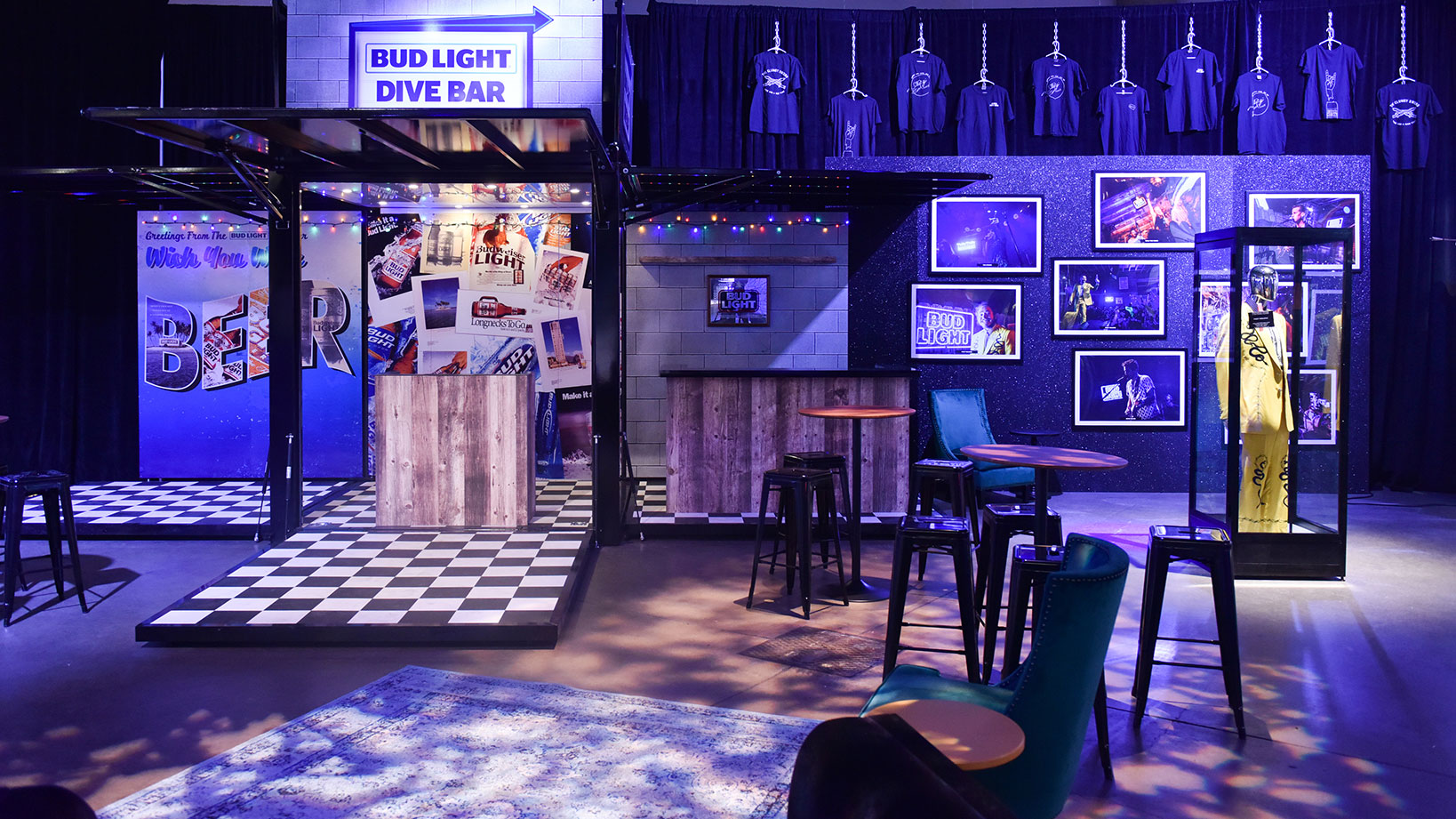 ABInBev SAMCOM Bud Light – Trade Show Booth Management