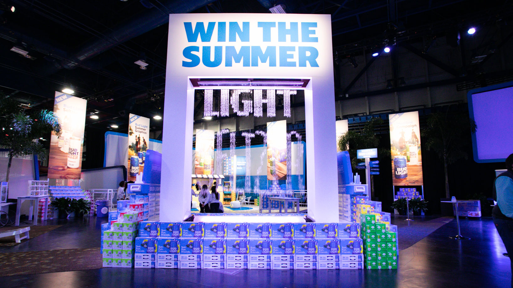 ABInBev SAMCOM Bud Light – Trade Show Booth Design and Activation